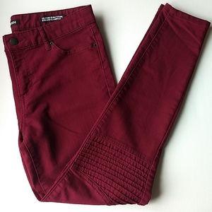 Joe Fresh Burgundy Jeans